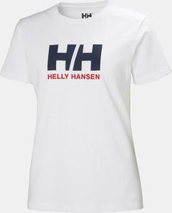 Bluzka Helly Hansen z krótkim rękawem z dzianiny