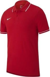 Czerwona koszulka dziecięca Nike z krótkim rękawem