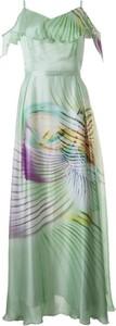 Sukienka Semper z jedwabiu