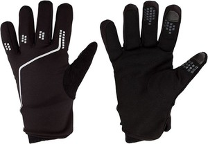 7b299069bfaa67 Czarne rękawiczki Avento w młodzieżowym stylu