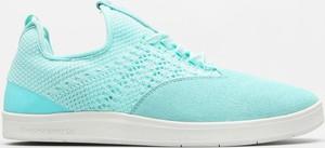 Miętowe buty sportowe Diamond Supply Co. w sportowym stylu