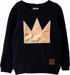 Bluza dziecięca Little Gold King z dzianiny dla dziewczynek
