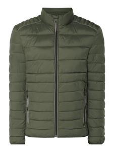 Zielona kurtka Montego w stylu casual