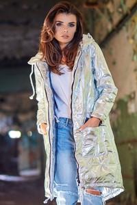 Kurtka Awama w stylu casual z tkaniny