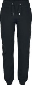 Czarne spodnie sportowe Emp w sportowym stylu