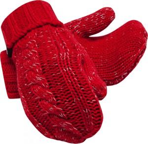Czerwone rękawiczki New Balance