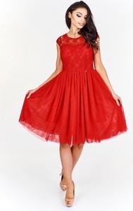 9a86578e0e sukienki wieczorowe czerwone - stylowo i modnie z Allani