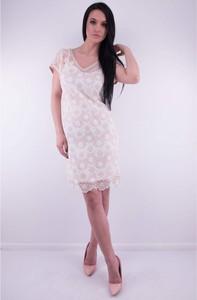 be1459a85d370 beżowe buty do różowej sukienki - stylowo i modnie z Allani