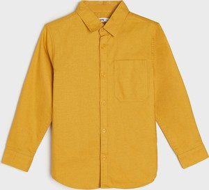 Żółta koszula dziecięca Sinsay