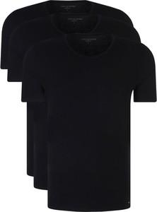 T-shirt Tommy Hilfiger z tkaniny z krótkim rękawem
