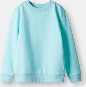 Turkusowa bluza dziecięca Sinsay