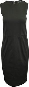 Czarna sukienka Dolce & Gabbana Vintage mini bez rękawów