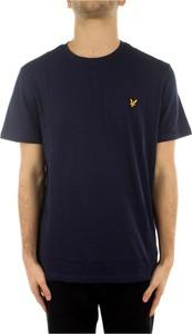 Niebieski t-shirt Lyle & Scott