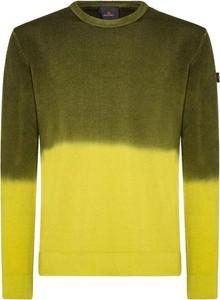 Zielony sweter Peuterey z okrągłym dekoltem