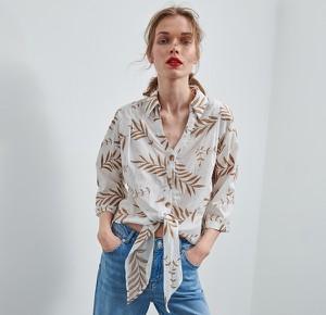 Koszula Reserved w stylu casual z długim rękawem