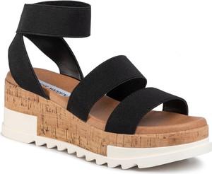 Czarne sandały eobuwie.pl w stylu casual