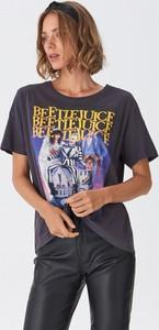 T-shirt House z krótkim rękawem w młodzieżowym stylu