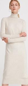 Sukienka Reserved w stylu casual z długim rękawem midi