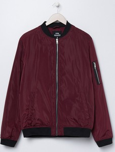 Czerwona kurtka Sinsay w stylu casual