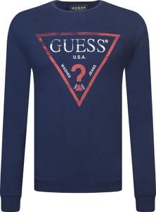 Bluza Guess Jeans z dzianiny w street stylu