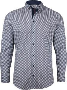 Koszula Rigon w stylu casual z długim rękawem