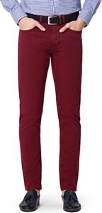 Czerwone spodnie LANCERTO z bawełny