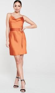 Pomarańczowa sukienka River Island mini