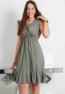 Zielona sukienka Olika