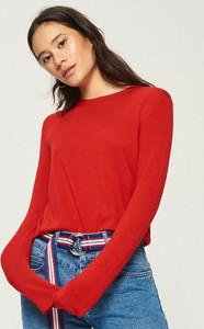 Czerwony sweter Sinsay