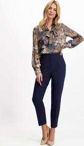 Bluzka Lavard z długim rękawem z dekoltem w kształcie litery v