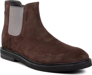 Brązowe buty zimowe Strellson