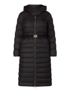 Czarny płaszcz Liu-Jo w stylu casual