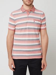 Czerwona koszulka polo Pierre Cardin w stylu casual
