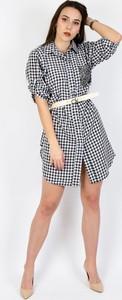 Sukienka Olika mini koszulowa w stylu casual