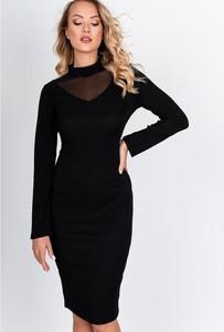 Sukienka Royalfashion.pl z długim rękawem