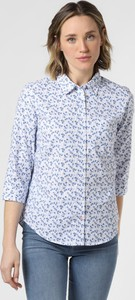 Niebieska bluzka Marie Lund z bawełny