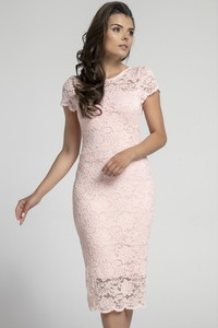 691c47e380 Sukienki koronkowe z okrągłym dekoltem