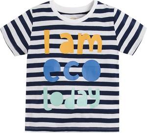 Koszulka dziecięca Cool Club z krótkim rękawem w paseczki dla chłopców