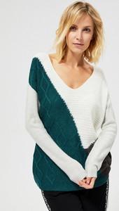 Sweter Moodo z moheru w stylu casual