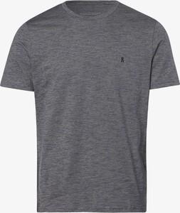Niebieski t-shirt ARMEDANGELS z krótkim rękawem