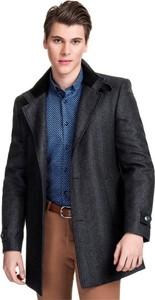 męskie długie płaszcze zimowe stylowo i modnie z Allani