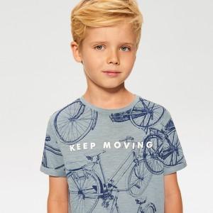 Niebieska koszulka dziecięca Reserved