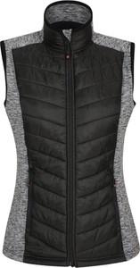 Czarna kamizelka Mountain Warehouse krótka w stylu casual z tkaniny