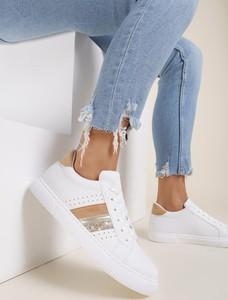 Buty sportowe Renee sznurowane z płaską podeszwą
