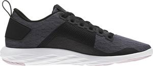 Granatowe buty sportowe Reebok sznurowane z płaską podeszwą