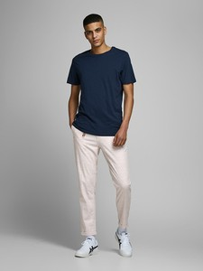 Chinosy Jack & Jones z lnu w stylu casual