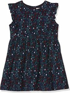 Granatowa sukienka dziewczęca Gocco