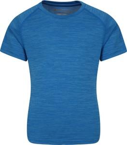 Niebieska koszulka dziecięca Mountain Warehouse dla chłopców