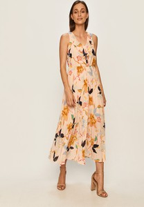 Sukienka Only z dekoltem w kształcie litery v rozkloszowana