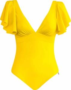 Żółty strój kąpielowy Opera